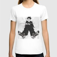 chaplin T-shirts featuring CHAPLIN by Analy Diego