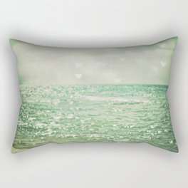 Sea of Happiness Rectangular Pillow