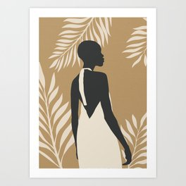Tropical Girl 12 Art Print
