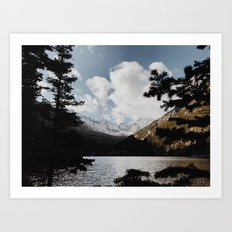 Mill's Lake Art Print