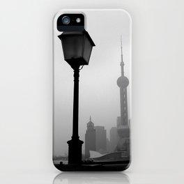 Pearl Tower Shanghai iPhone Case