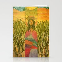 jesus Stationery Cards featuring Jesus by Eugene Frost