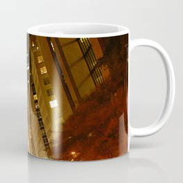 New York City: 42nd Street at Night Coffee Mug