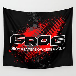 GROM Reapers Owners Group, Red Wall Tapestry