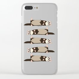 ferrets Clear iPhone Case