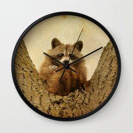 Transfixed Wall Clock