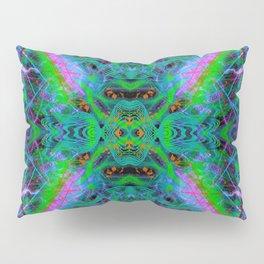 Techno Electric IV (Ultraviolet) Pillow Sham