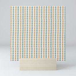 Dimond pattern Mini Art Print