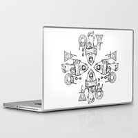 fight Laptop & iPad Skins featuring Fight by Benson Koo