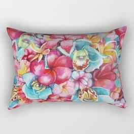 Hawaiian Bouquet Rectangular Pillow