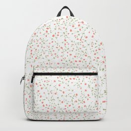 pink floral theme Backpack