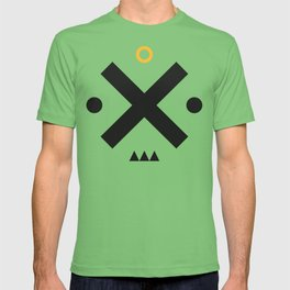 Simple Shapes Face T-shirt