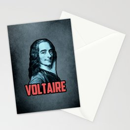 Voltaire Stationery Cards