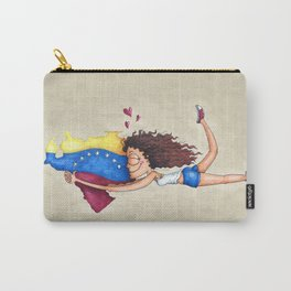 I love Venezuela Carry-All Pouch