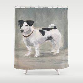 Mikko, Jack Russell Terrier Shower Curtain