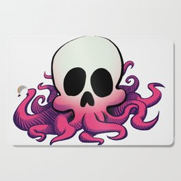 Squid Skull Cutting Board