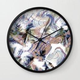 Abstraction , fish , sea 2 Wall Clock
