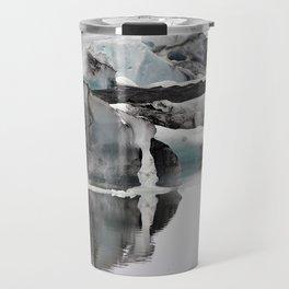 Ashy Glaciers. Travel Mug