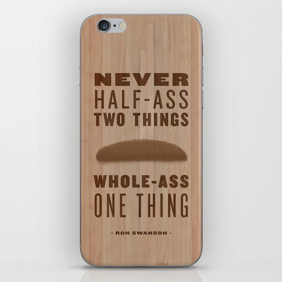 Whole-Ass One Thing iPhone & iPod Skin