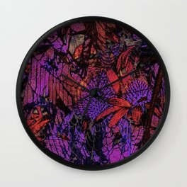 Purple ecstacy Wall Clock