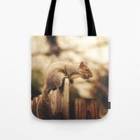 magic the gathering Tote Bags featuring Gathering by Kimberley Britt