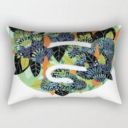 Serpent Garden Rectangular Pillow