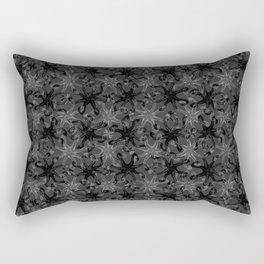 Octopus Kiss - Dark Gray Rectangular Pillow