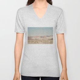 red rock canyon in California ... Unisex V-Neck