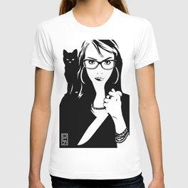 Tulip + The Cat T-shirt
