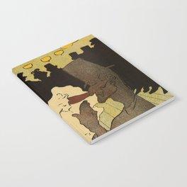 Paris nightlife 1891 Toulouse Lautrec Notebook