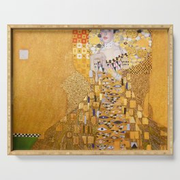 Gustav Klimt - The Woman in Gold Serving Tray