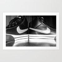 nike Art Prints featuring Nike by Rebekah