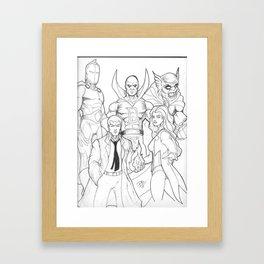 DC Magic Framed Art Print