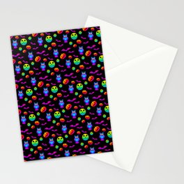 Halloween Pattern6 Stationery Cards