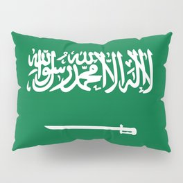 Saudi Arabia Flag Pillow Sham