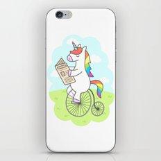 Unicorn Stroll iPhone & iPod Skin