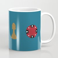 inception Mugs featuring inception by Live It Up