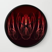 math Wall Clocks featuring Invisible Math by Rabassa