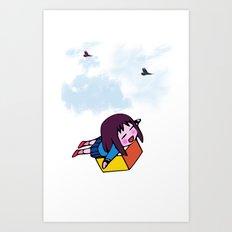 I Wanna Fly Art Print