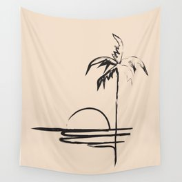 Abstract Landscpe Wall Tapestry