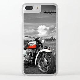 Triumph Bonneville T120 1959 Clear iPhone Case
