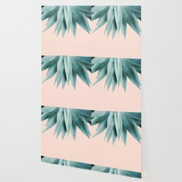 Agave fringe - peach Wallpaper