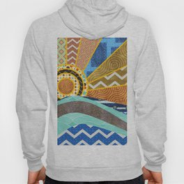 Sunset and Waves 2 Hoody