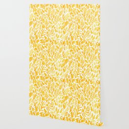 Dandelion Yellow Wallpaper