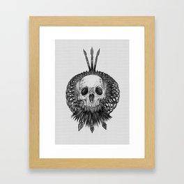 Everything with Skulls - 01 Framed Art Print