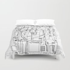 Conversation Duvet Cover
