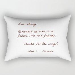 Dear George Rectangular Pillow