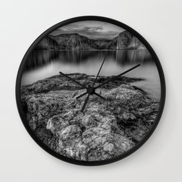 Canyon Lake Chrome Edition Wall Clock