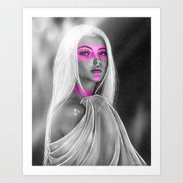 Gaze Art Print