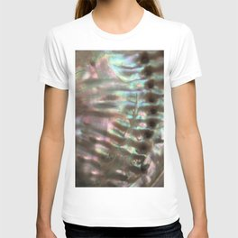 Shimmery Greenish Pink Abalone Mother of Pearl T-shirt